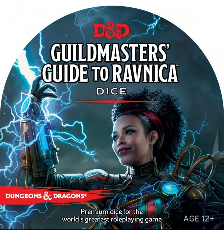 D&D Guildmasters' Guide to Ravnica Dice